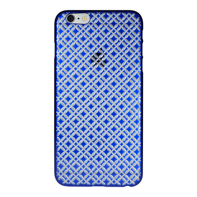 iPhone 6 Plus / 6s Plus Air Jacket Kiriko 江戶切子-七寶(藍)