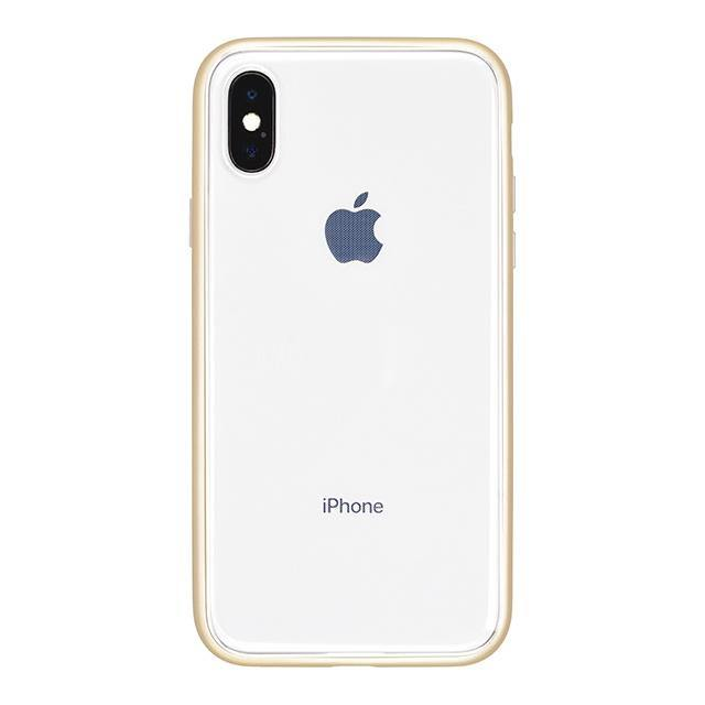 iPhone X Shock-Proof Air Jacket抗衝擊保護殼(金)