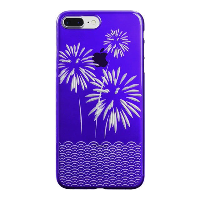 iPhone 8 Plus Air Jacket Kiriko 江戶切子-爆竹(紫)