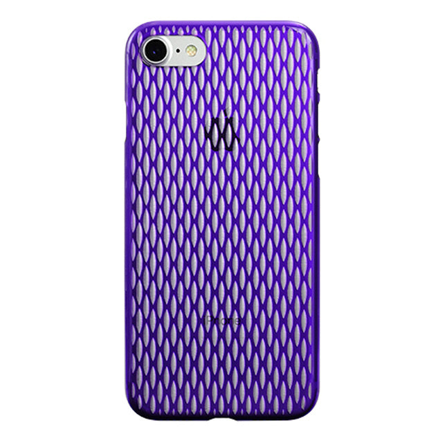 iPhone 7 Air Jacket Kiriko 江戶切子-穀物(紫)