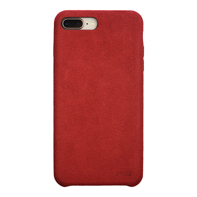 iPhone 8 Plus Ultrasuede Air Jacket麂皮絨保護殼(紅)