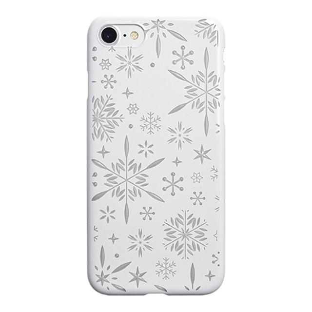iPhone 7 Air Jacket Kiriko 江戶切子-雪花(白)