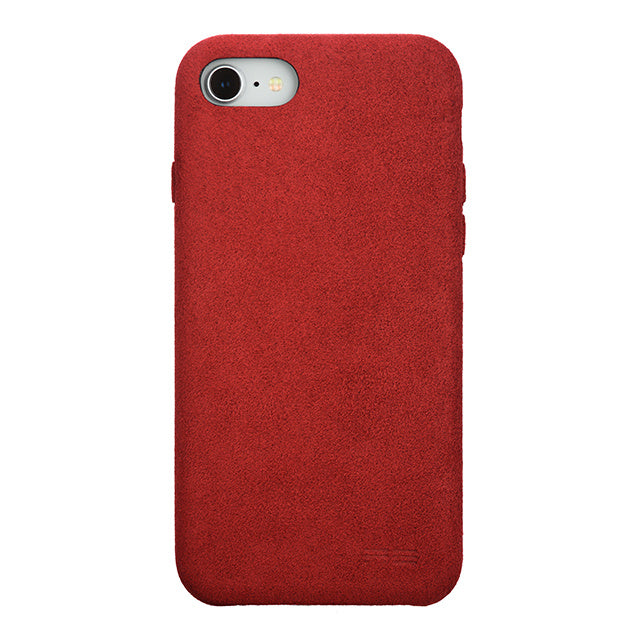iPhone 7 Ultrasuede Air Jacket麂皮絨保護殼(紅)