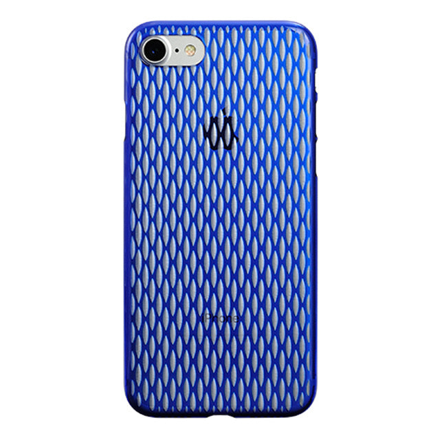 iPhone 7 Air Jacket Kiriko 江戶切子-穀物(藍)