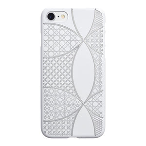iPhone 7 Air Jacket Kiriko 江戶切子-七寶(白)