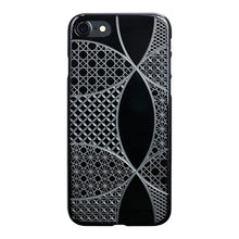 iPhone 7 Air Jacket Kiriko 江戶切子-七寶(黑)
