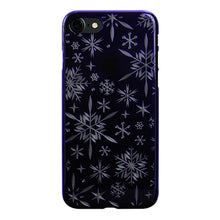 iPhone 8 Air Jacket Kiriko 江戶切子-雪花(紫)