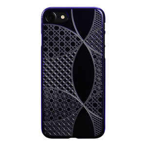 iPhone 8 Air Jacket Kiriko 江戶切子-七寶(紫)