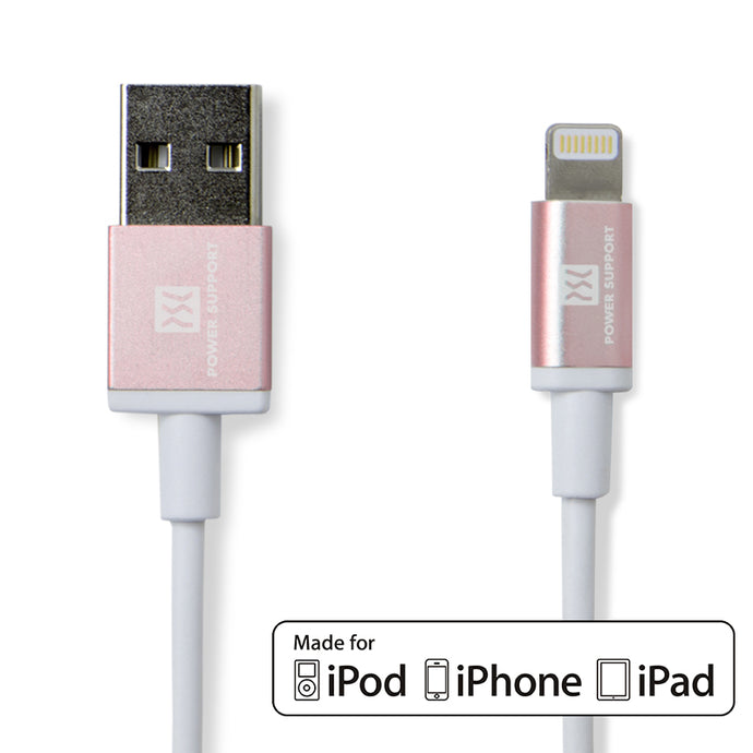 USB to Lighting Cable 傳輸線2m(玫瑰金)