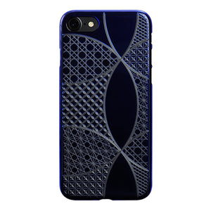 iPhone 8 Air Jacket Kiriko 江戶切子-七寶(藍)