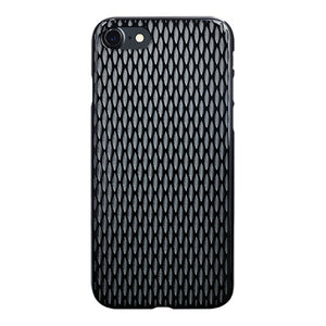 iPhone 7 Air Jacket Kiriko 江戶切子-穀物(黑)