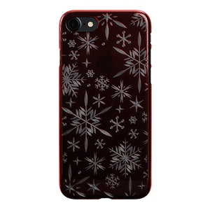 iPhone 8 Air Jacket Kiriko 江戶切子-雪花(紅)