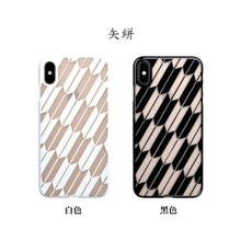 iPhone Xs Max Air Jacket Kiriko 江戶切子-矢絣(紅)