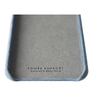 iPhone 8 Plus Ultrasuede Air Jacket麂皮絨保護殼(天藍)