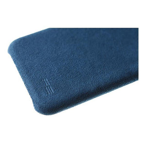 iPhone X/Xs Ultrasuede Air Jacket麂皮絨保護殼(深藍) - POWER SUPPORT台灣官方網站