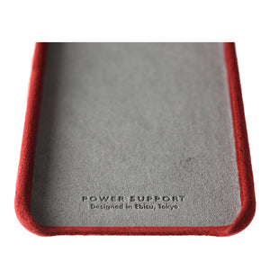 iPhone 8 Ultrasuede Air Jacket麂皮絨保護殼(紅)