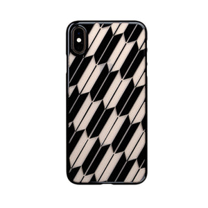 iPhone Xs Max Air Jacket Kiriko 江戶切子-矢絣(黑)