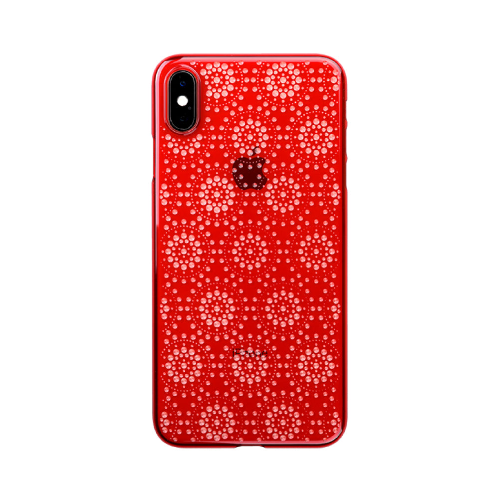 iPhone Xs Max Air Jacket Kiriko 江戶切子-万華鏡(紅)