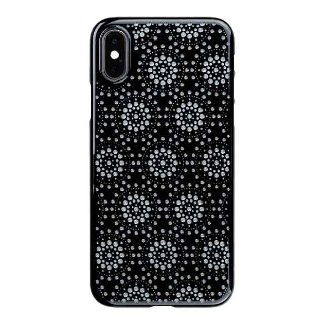 iPhone Xs Air Jacket Kiriko 江戶切子-万華鏡 (黑)
