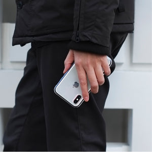 iPhone XS Shock-Proof Air Jacket抗衝擊保護殼(紅)