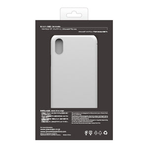 iPhone X Ultrasuede Filip Case麂皮絨翻蓋皮套(黑)