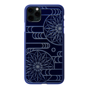 iPhone 11 Pro Max Air Jacket Kiriko 江戶切子-霞之鞠(藍)