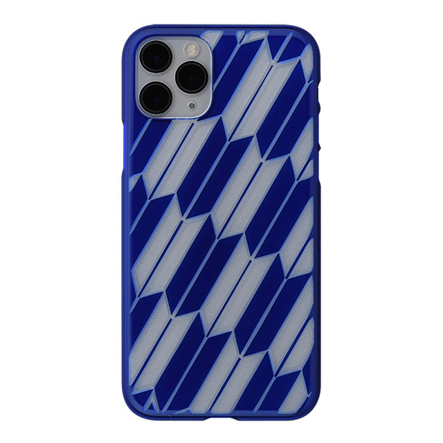 iPhone 11 Pro Air Jacket Kiriko 江戶切子-矢絣(藍)