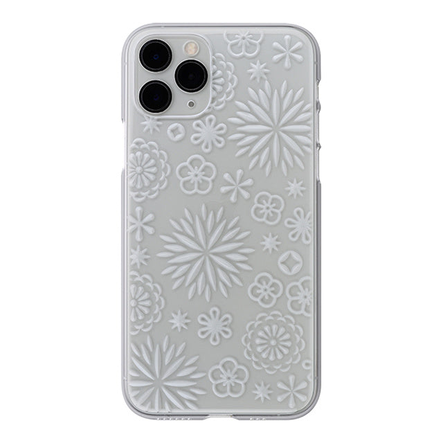 iPhone 11 Pro Air Jacket Kiriko 江戶切子-花(透明)