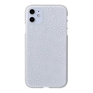 iPhone 11 Air Jacket Kiriko 江戶切子-花(透明)