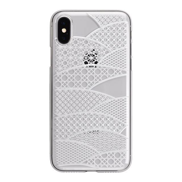 iPhone X Air Jacket Kiriko 江戶切子-扇形(透明)