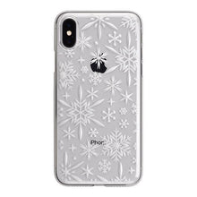 iPhone X Air Jacket Kiriko 江戶切子-雪花(透明)