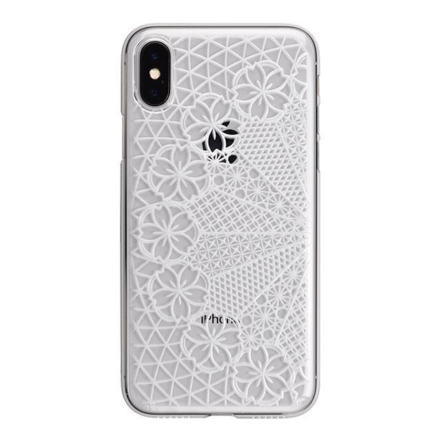 iPhone X Air Jacket Kiriko 江戶切子-花車(透明)