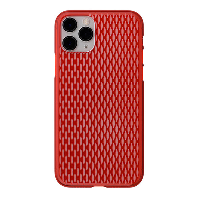iPhone 11 Pro Air Jacket Kiriko 江戶切子-米粒 (紅)