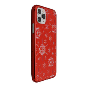 iPhone 11 Pro Air Jacket Kiriko 江戶切子-雪片(紅)