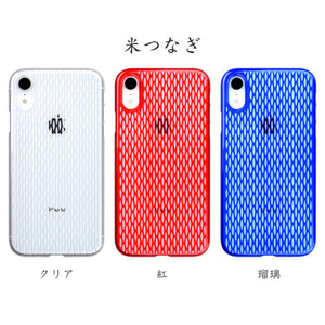 iPhone XR Air Jacket Kiriko 江戶切子-米粒 (透明)