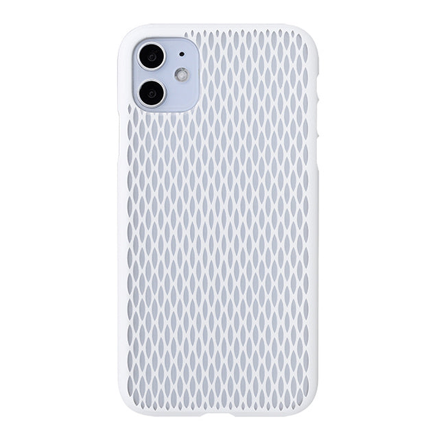iPhone 11 Air Jacket Kiriko 江戶切子-米粒 (白)