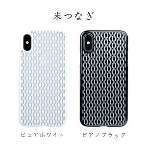 iPhone Xs Air Jacket Kiriko 江戶切子-米粒 (白)