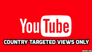 Buy YouTube videos Views With High Retention And Country Targeted ( Choose the country ) - As Per 1000 Views In Just 2.2$ Only