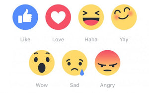 Buy Facebook Emoticons Or Reactions On Post Likes (HIGH QUALITY AND REAL) - Starting From $0.99 Only