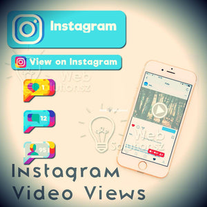 Buy Instagram Video Views (Real With High Retention) - Starting From $1.99 Only