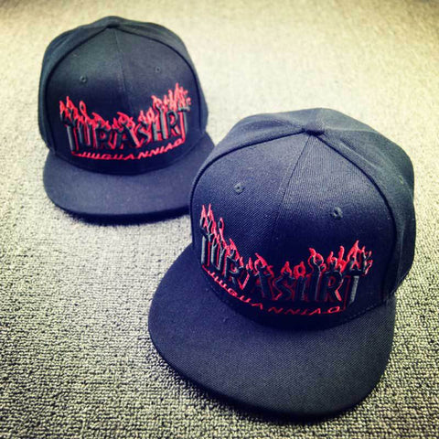 2016 New High Quality TURASHRT Fire Letters Embroidery Men s Snapbacks Hats  Black Baseball Caps Hip Hop 419457d1e3a8