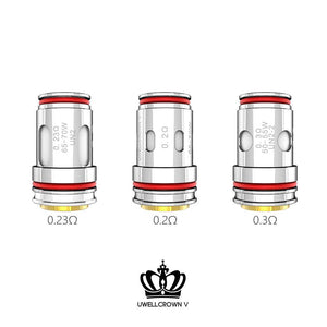 Crown 5 replacement coils (4 pack)