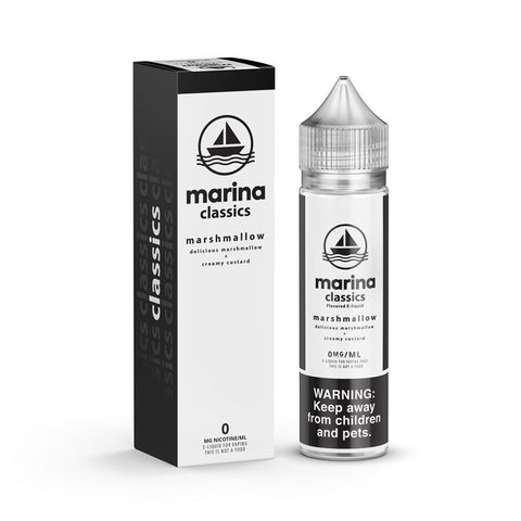 Marina Classics  - Marshmallow Original - 60ml | MorningtonVapes