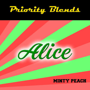 Priority Blends Alice Minty Peach (60mls RTV) | MorningtonVapes