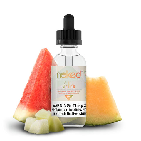 Naked 100 - Original Fruit - All Melon - 60mls | MorningtonVapes