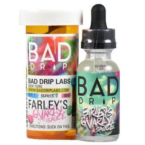 Bad Drips - Farleys Gnarly Sauce - 60mls | MorningtonVapes