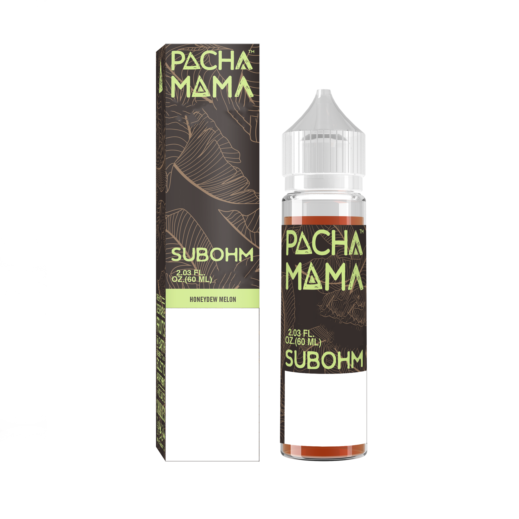 Charlies Chalk - Pacha Mama - Sub-Ohm -  Honeydew Melon (60mls ready to vape) | MorningtonVapes