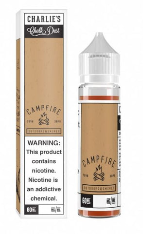 Charlies Chalk - Campfire 60ml | MorningtonVapes