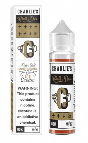 Charlies Chalk - Salted Caramel Vanilla Ice Cream 60ml | MorningtonVapes