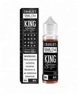 Charlies Chalk - Black Box - King Bellman - Brown Sugar Tobacco & Vanilla (60 mls) | MorningtonVapes